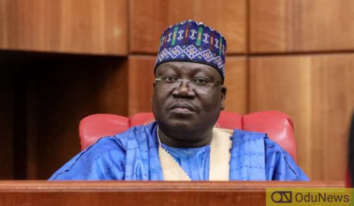 Lawan: Senate Not Rubber Stamp, We Resolve Differences With Buhari 'Behind-the-scenes'