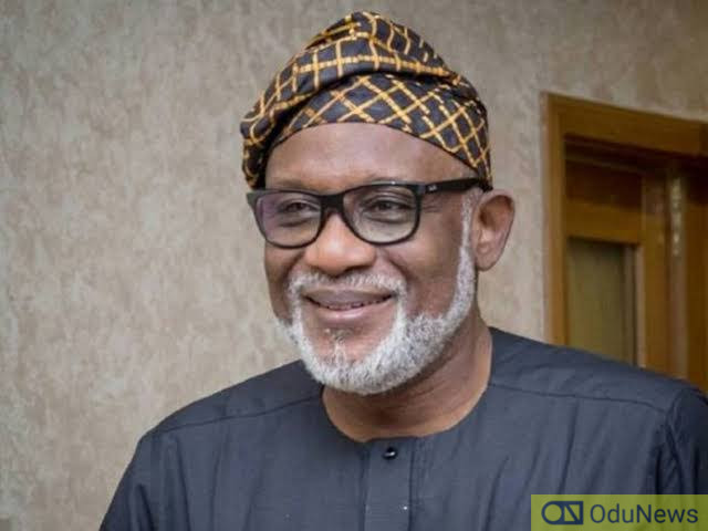 BREAKING: Ondo Governor Akeredolu Tests Positive For Coronavirus
