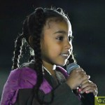 Kanye West's Daughter North West Gives Rap Performance At Paris Fashion Week