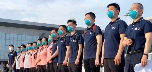 CCECC: Chinese Doctors Done With Assignment But Stranded In Nigeria