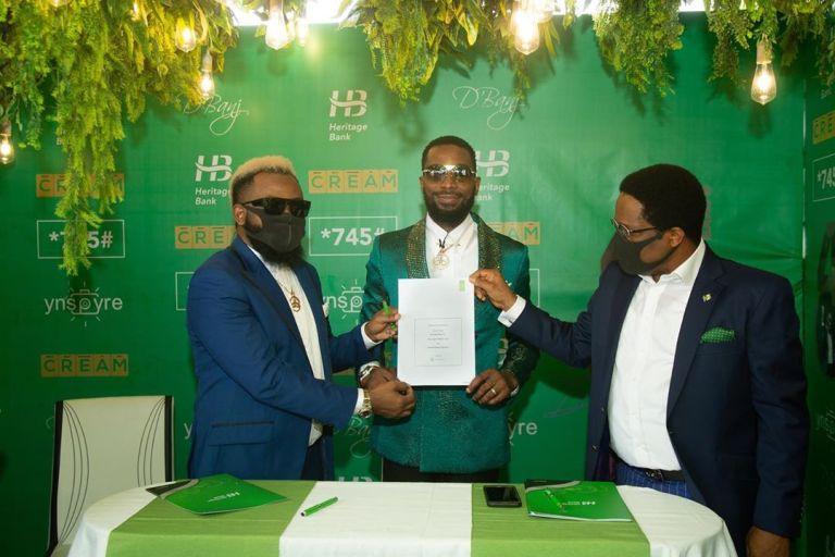 Dbanj suspended as Heritage Bank ambassador