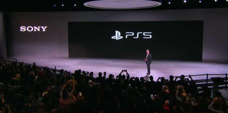 PS 5 logo reveal event