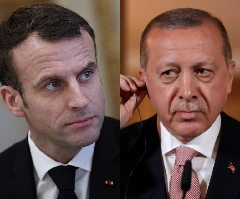 France President Macron Blasts Turkey Over 'Criminal' Role In Libya