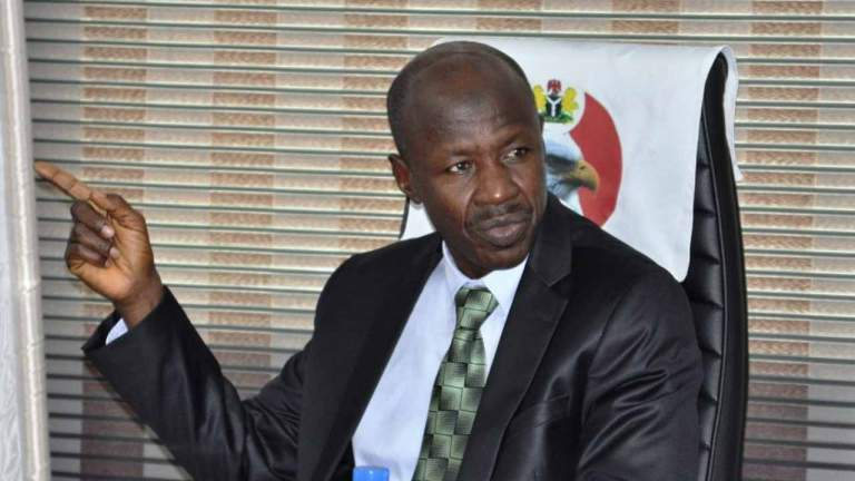 Magu Opens Up On 'Looted N550bn Interest'