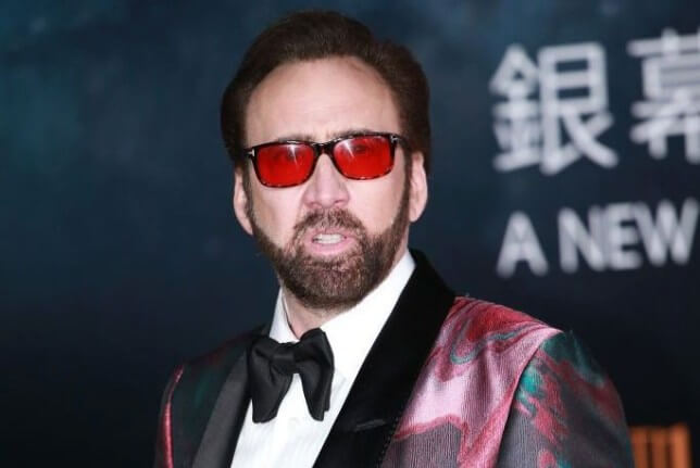 Nicolas Cage Tops The Hardest Working Actors In Hollywood List/Photo Credit: Getty Images