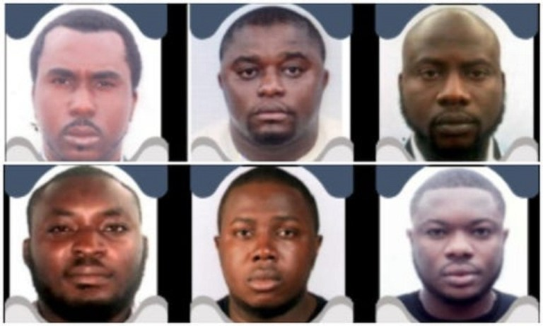 US Charges 6 Nigerians For $6m Internet Fraud