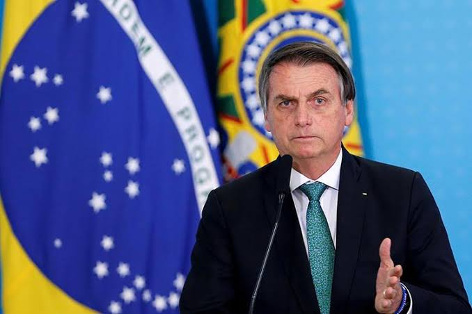 Brazilian President, Jair Bolsonaro