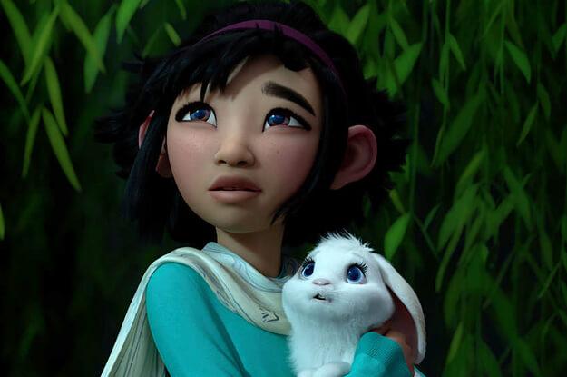 The little heroine Fei Fei