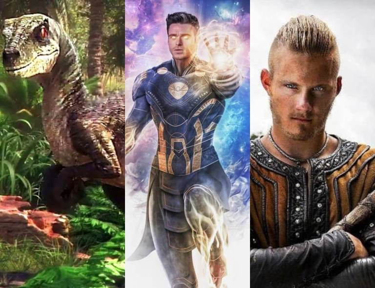 'Jurassic World: Camp Cretaceous' Trailer Is Here, Dazzling Images Of Fan Art For Marvels's Eternals & Alexander Ludwig Starring In New Netflix Thriller