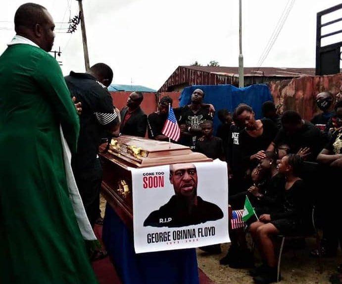 Drama As Pastor Reburies 'George Obinna Floyd' In Mbaise
