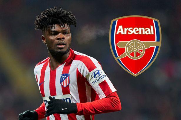 Athletico Madrid Decide On Arsenal Second Bid For Thomas Partey