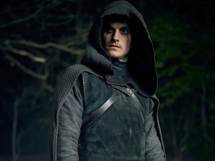 Daniel Sharman as the Weepimg Monk, a weapon of the church in the series