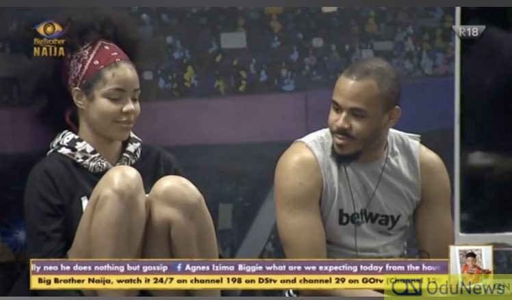 #BBNaija: Viewers Angry At 'Kayode' For Not Capturing Ozo & Nengi Shower Moment