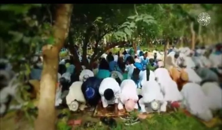 Fears Of Boko Haram In North Central Grow As New Video Shows Terrorists Observing Eid Prayers In Niger State