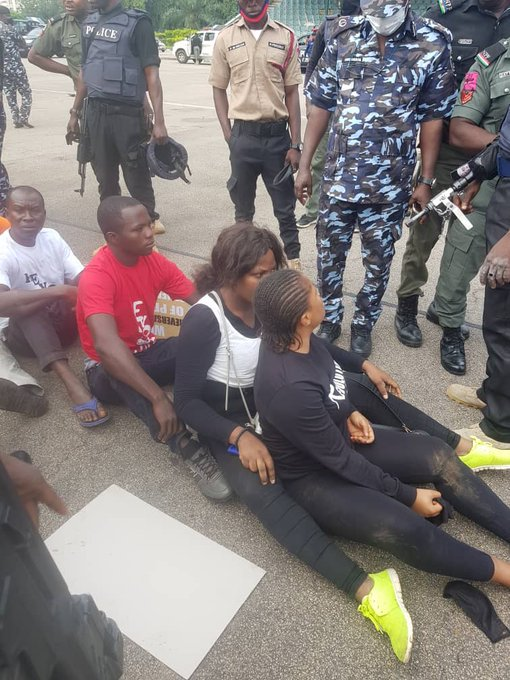 #RevolutionNow: We Arrested Protesters For Violating COVID-19 Guidelines - Police