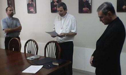 Nuevo Delegado Episcopal para la Educación