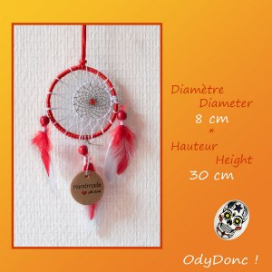 Attrape Rêve Dreamcatcher Objet Artisanal Mobile Eclipse