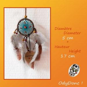 Attrape Rêves Rétroviseur Voiture Dreamcatcher Natif Amérindien Ethnique