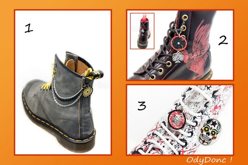 Bijoux de chaussures ethniques personnalisables