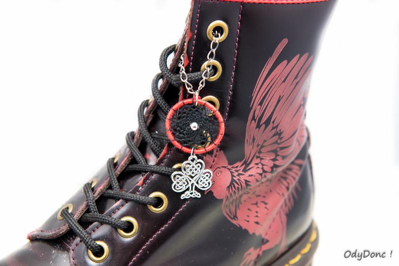 Bijoux de chaussures ethniques et personnalisables