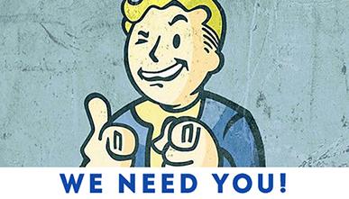 We need you, besoin de bénévoles. L'Odyssée du Jeu Vidéo #ODJV