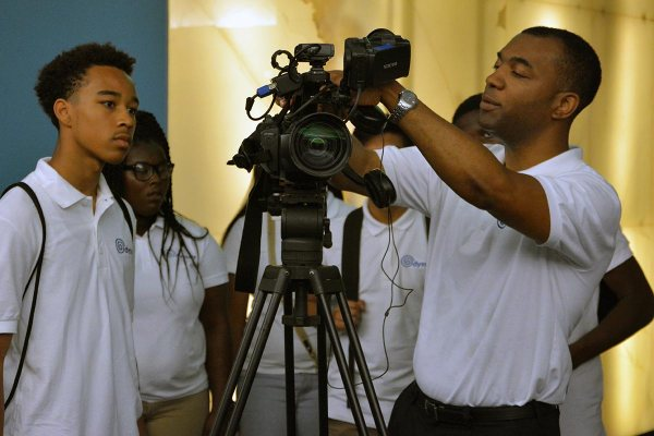 High School Filming Staff