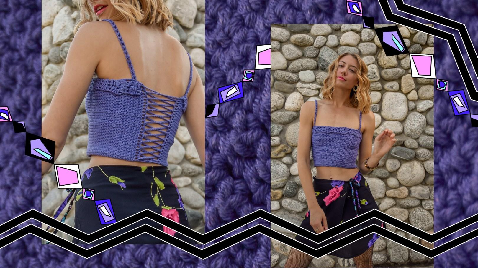 09b7cd0acde No Pressure Crochet Top Pattern! – Odyssey Designs