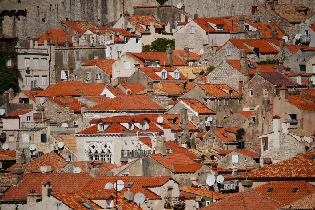 satellite dish city