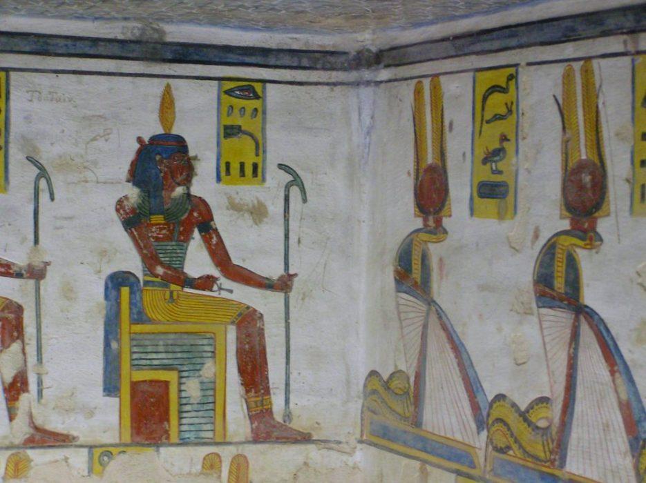 at Ramses III tomb