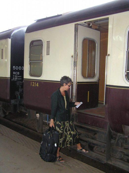 the night train to Mombassa