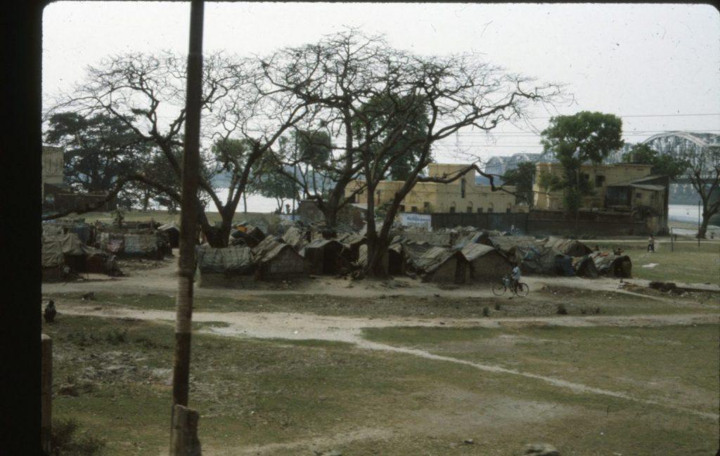 Calcutta slum