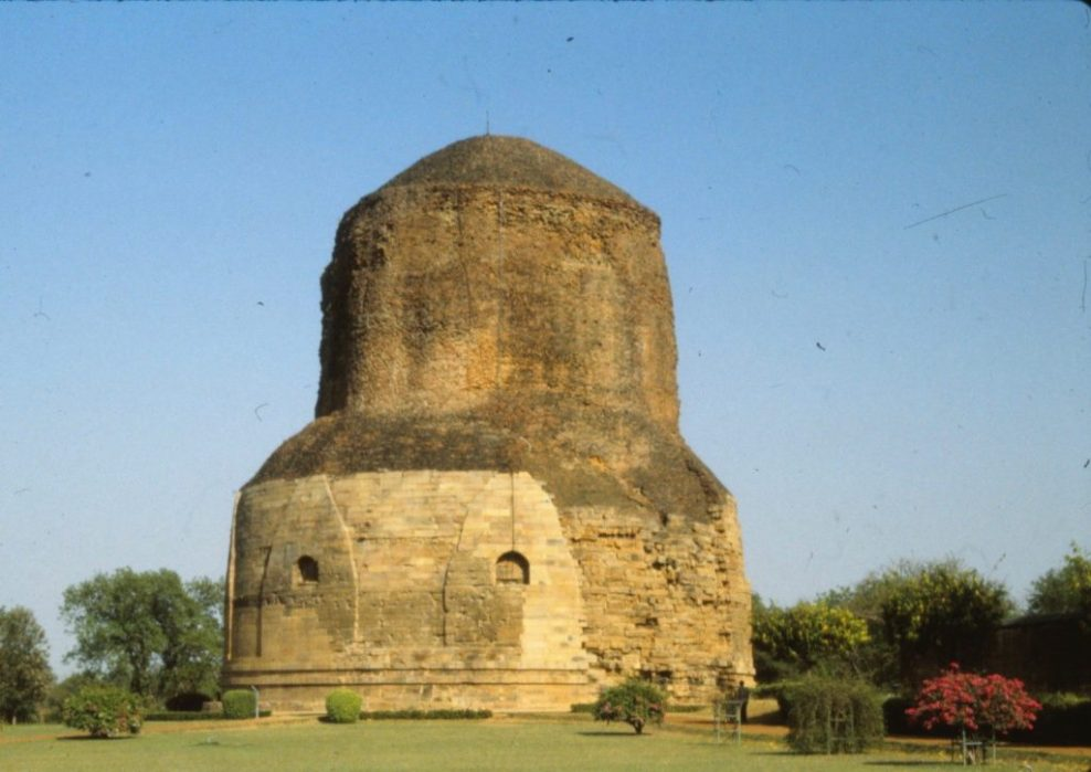 where Buddha first preached