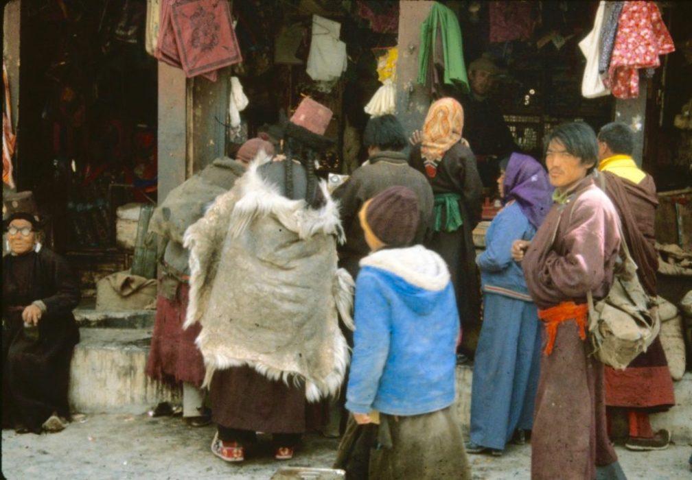 Ladakhi locals