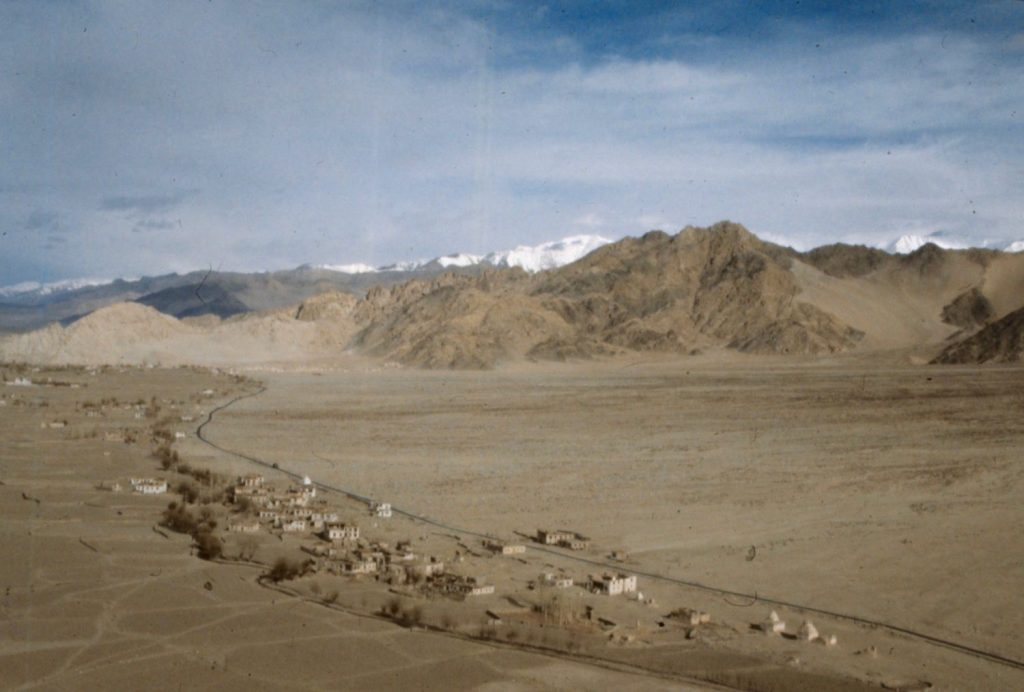 the road into Leh