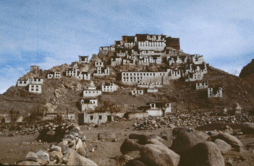 looks like Tibet