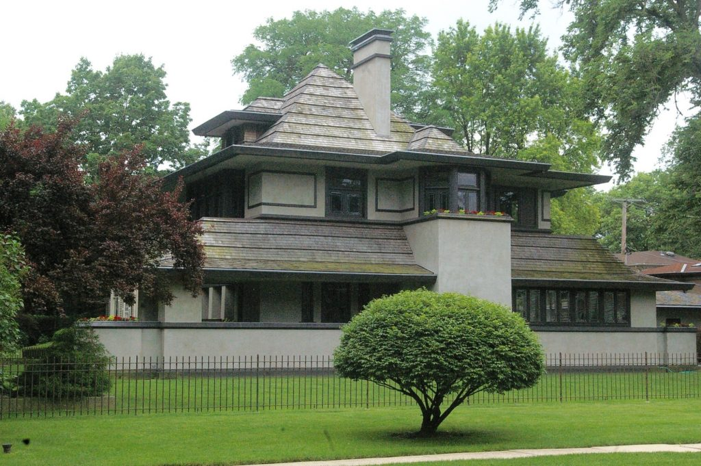 Frank Lloyd Wright's home in Oak Park