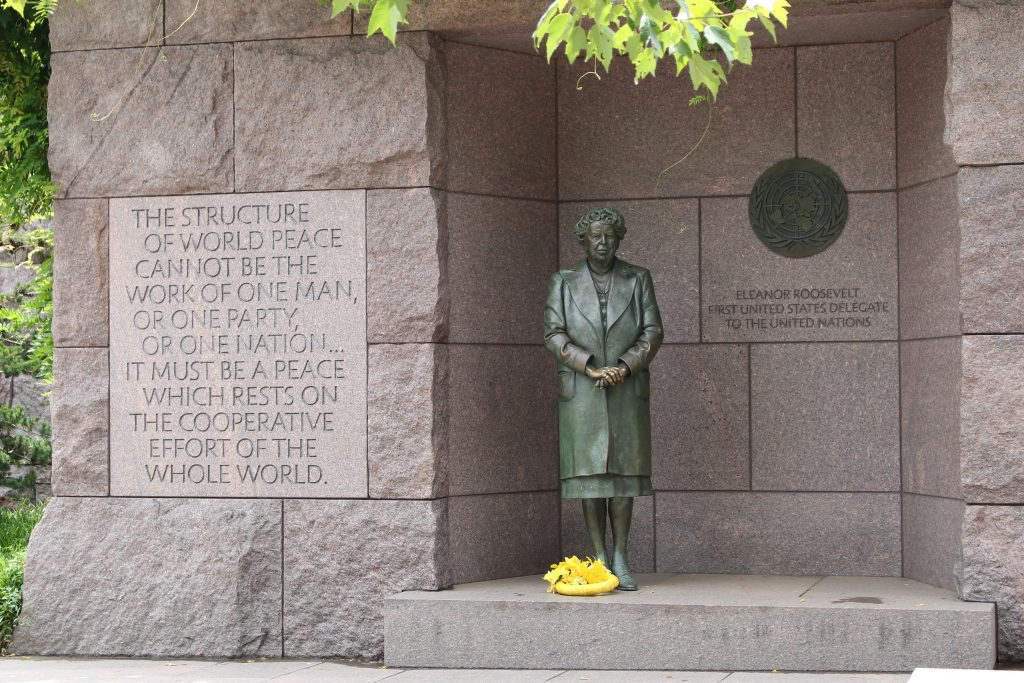 an homage to Eleanor Roosevelt