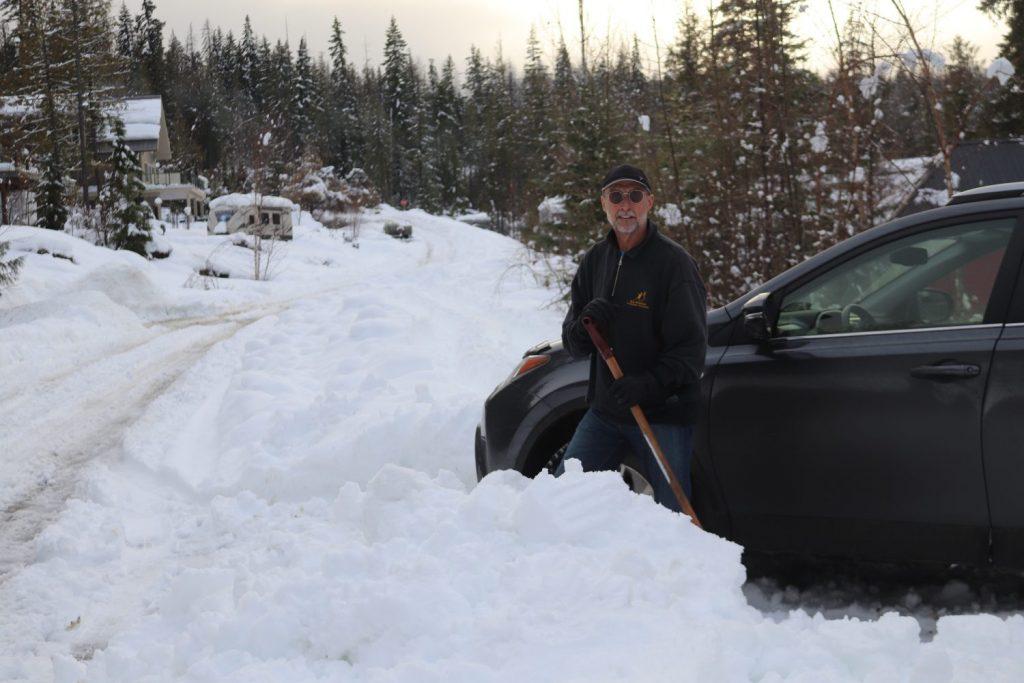 Shuswap snow storm