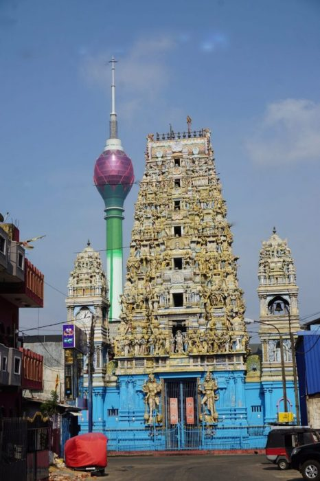 Colombo Hindu temple