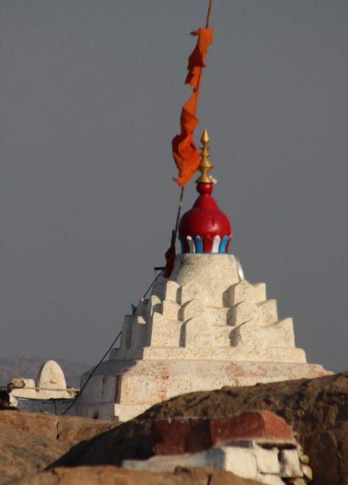 Hanuman's temple