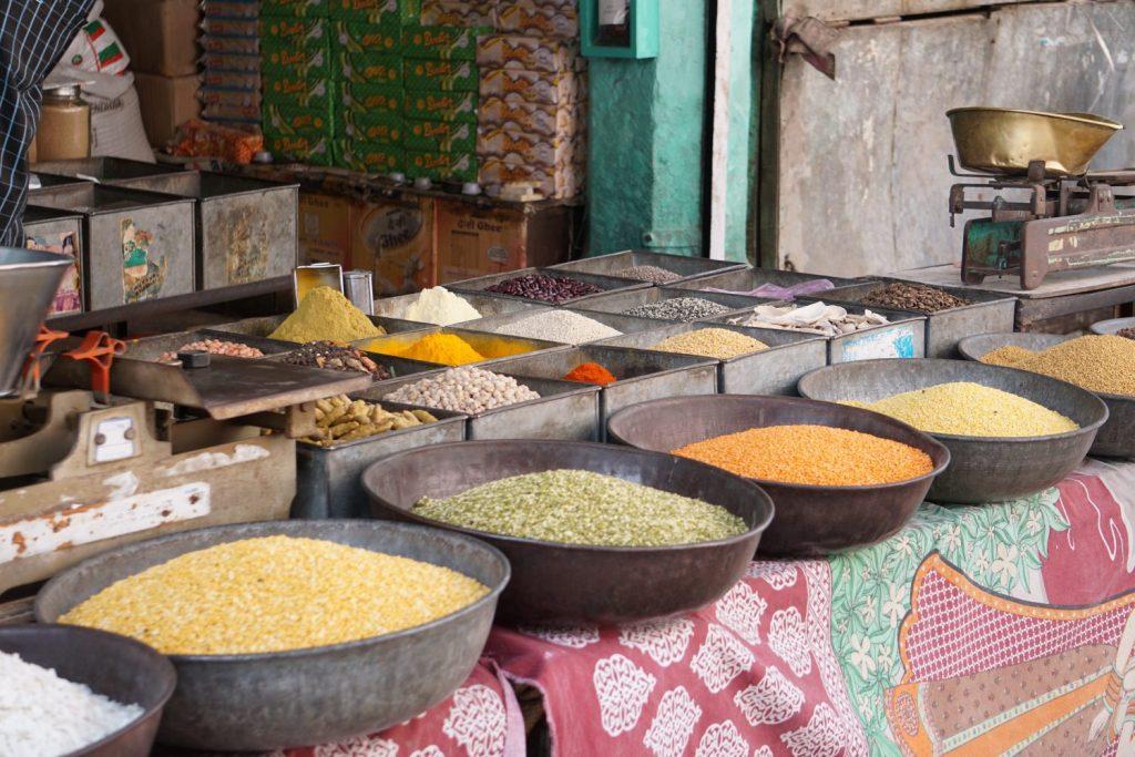 spice and lentil market