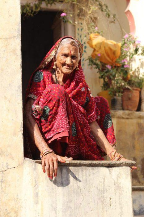 Aunt Nel's Indian doppelgänger