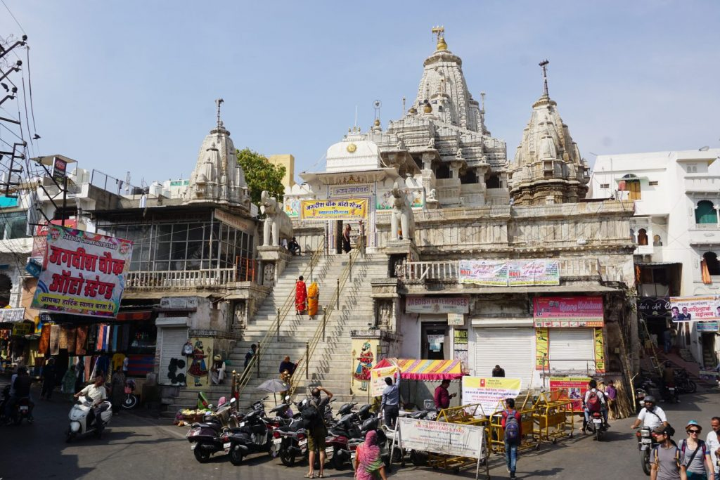 the Jagdish temple