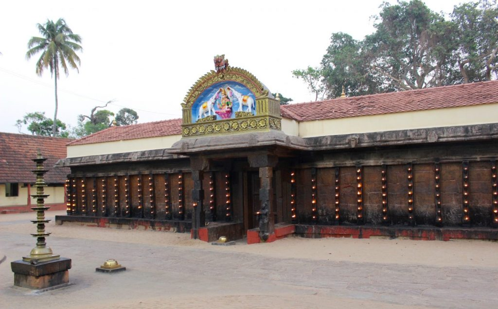 the Janardanha temple
