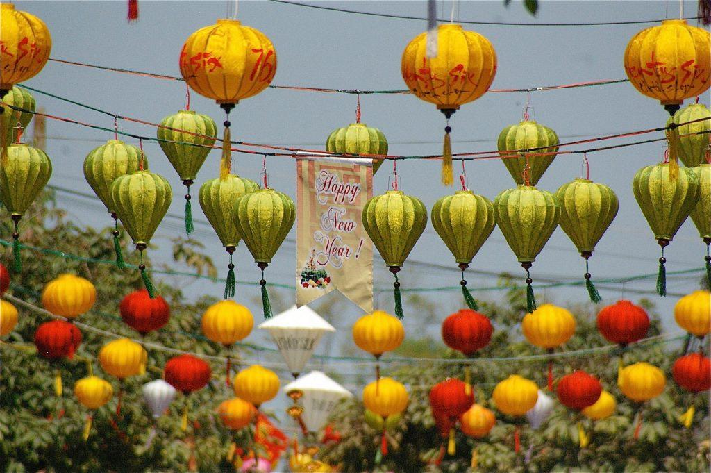 Tet lanterns