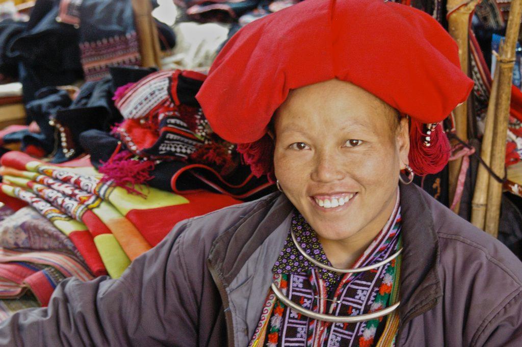 friendly Dao lady
