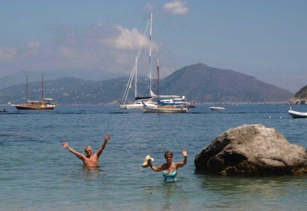 Capri swim