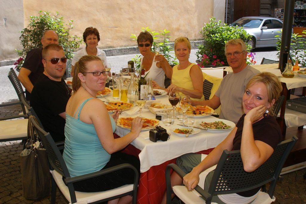 Orvieto lunch