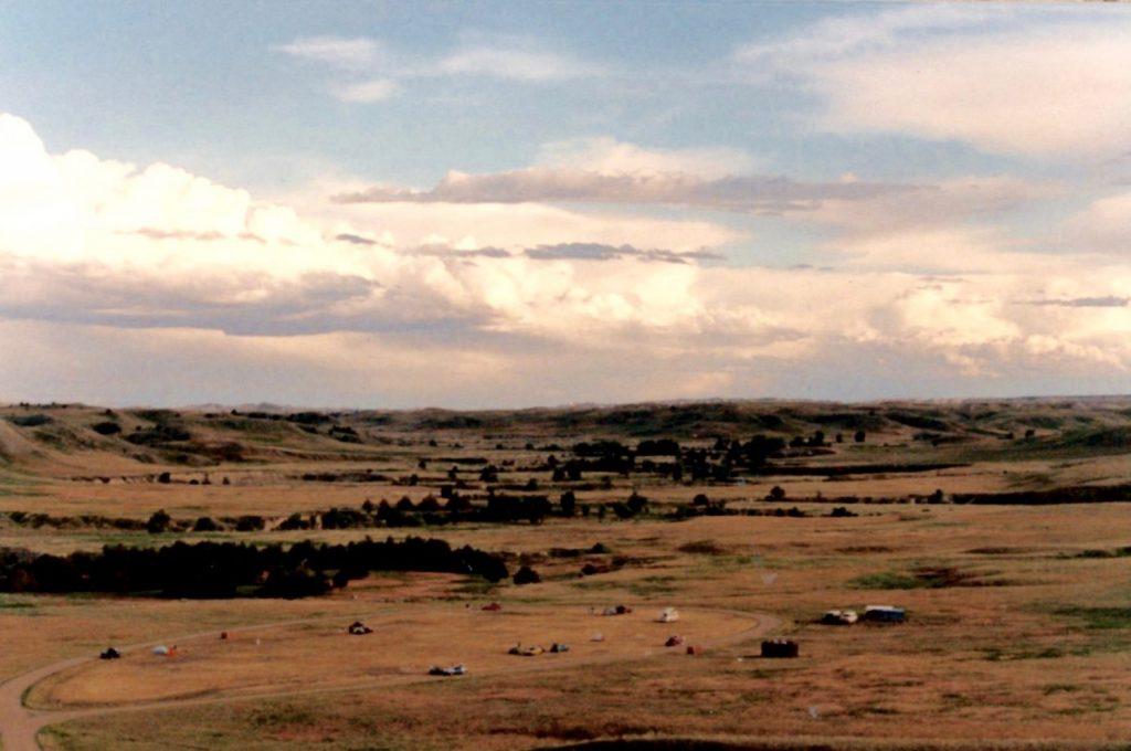 prairie camping