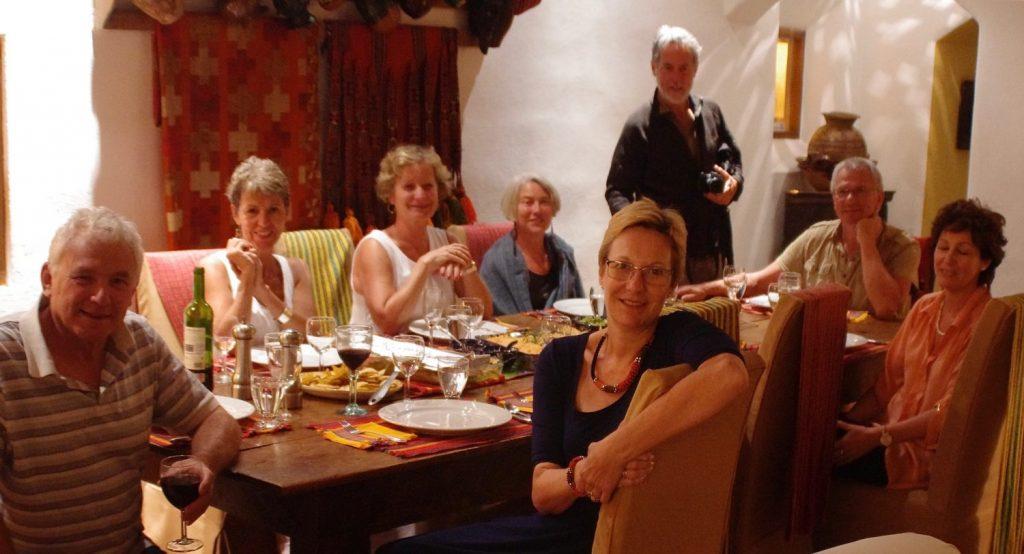 villa dinner